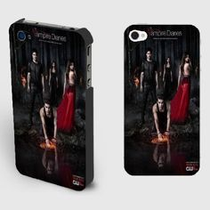 Amazon.com: The Vampire Diaries Iphone 4/4s Case Black/white Best Durable Plastic Hard Case Cover New Design (TVD-D Black): Cell Phones & Accessories