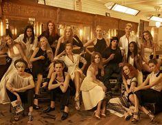 vogue may 2009:  Isabeli Fontana, Natasha Poly, Raquel Zimmermann, Coco Rocha, Caroline Trentini, Liya Kebede, Lara Stone, Karen Elson, Natalia Vodianova & Sasha Pivovarova