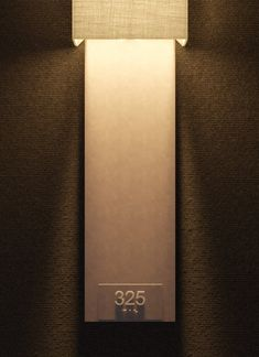 DelightFULL On Tour: Curated Hotel Selection For Maison et Objet - All About Decoration Door Signage, Hotel Signage, Wayfinding Signage, Signage Design, Hotel Branding, Hotel Corridor, Hotel Door, Best Home Interior Design, Office Interior Design