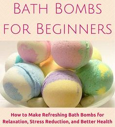 Bath Bombs for Beginners: How to Make Refreshing Bath Bombs for Relaxation, Stress Reduction, and Better Health with over 20 homemade bath bomb recipes to get you started! (How To Make Christmas Bath Bombs) Diy Spa, Pot Mason Diy, Mason Jar Crafts, Bath Fizzies, Bath Salts, Diy Savon, Homemade Bath Bombs, Recipe For Bath Bombs, Easy Bath Bomb Recipe