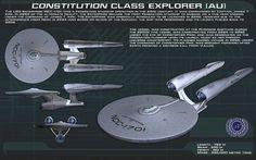 I know she ain't SFB or TOS, but damn she is a nice looking take on the Enterprise. Perhaps an X Ship.