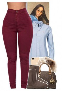 Featuring michael kors and ugg australia women, men and kids outfit ideas o Lazy Day Outfits, Casual Fall Outfits, Dope Outfits, Swag Outfits, Fall Winter Outfits, Everyday Outfits, Outfits For Teens, Stylish Outfits, Summer Outfits