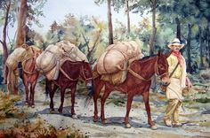 Cowboy Artwork, Southwest Art, Love Art, Art Pictures, Wildlife, Kawaii, Horses, Landscape, Wall Art