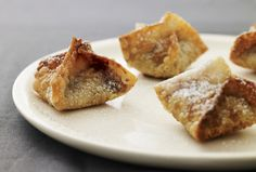 Chocolate Raspberry Wontons are one of my easy yummy desserts, great finger food.