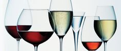 Let's take a look at the most common types of wine glasses. While there are specially designed shapes and sizes, here are four popular wine glasses.