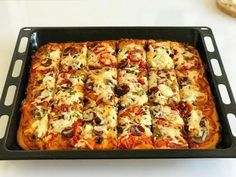 Pizza Facil, Flatbread Pizza, Vegan Pizza, Food Cravings, Superfoods, Lasagna, Lunch Box, Food And Drink, Cooking Recipes