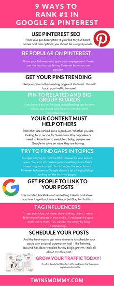 New to SEO tips for bloggers and Google ranking factors? Search Engine Optimization. Learn SEO tips for WordPress and social media and start ranking in Google and Pinterest | Pinterest SEO | Search engine optimization tips |  Google ranking tips #seo