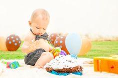 Cake Smash Smash the Cake Boy Menino