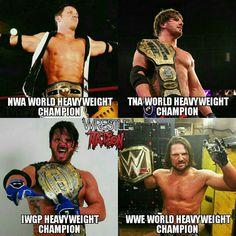 That's why AJ is phenomenal