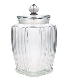 Loving this Large Panel Knob Canister on #zulily! #zulilyfinds
