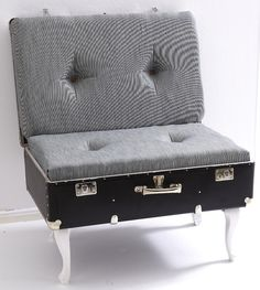 """We've got a great tutorial from Dremel showing you how to upcycle an old suitcase into a chair - plus you can win £240 worth of Dremel goodies! """"I'll..."""