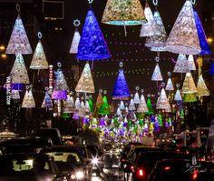 Christmas lights in Bucharest