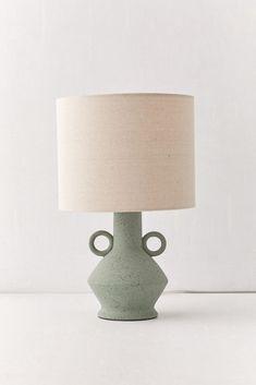 Shop Kema Ceramic Table Lamp at Urban Outfitters today. Side Table Lamps, Rustic Table Lamps, Corner Lamp, Nightstand Lamp, I Love Lamp, Ceramic Table Lamps, Modern Ceramics, Drum Shade, Lamp Bases