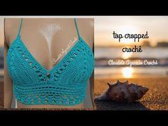 Crochet Bikini Pattern, Swimsuit Pattern, Crochet Shorts, Crochet Top, Crochet Patterns, American Girl Crafts, Swimming Costume, Crochet Woman, Short Tops
