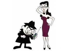 Boris and Natasha! Rocky & Bullwinkle was my favorite cartoon by default! Vintage Cartoons, Classic Cartoons, Vintage Toys, 80 Cartoons, Nostalgia, Saturday Morning Cartoons, Famous Couples, Famous Cartoon Couples, Cartoon Characters
