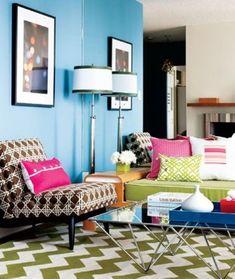 25 Cool Chevron Interior Design Ideas. Awesome photos featuring the popular chevron design that's so trendy right now! #interiordesign #smarthomesforliving