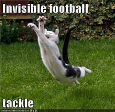 Invisible football   tackle