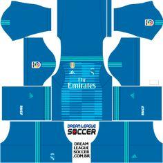 Kit Real Madrid 2018/2019 Dream League Soccer kits URL 512×512 DLS 20