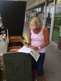 """""""A Cool Cache"""" (GC15RQB) - Big ammo can box in Florida at the Geocache Shop"""