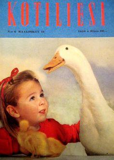 Kotiliesi Magazine cover, 1958.