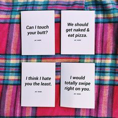 Jac Vanek greeting cards: for people who hate sappy shit. Which is your favorite? Tag your ❤️ and get this set on JACVANEK.COM now! ✏️✨