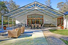 Large Gable Pergolas   Carports, patios, pergolas, awnings, sunrooms, alfresco areas and decks