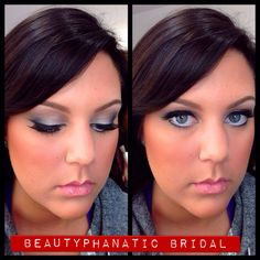 Sultry bridal makeup by Beautyphanatic