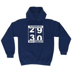 123t USA Oldometer 29 30 Funny Hoodie