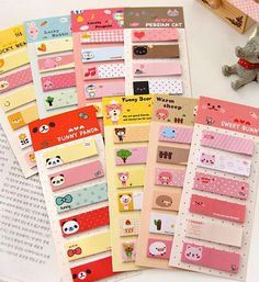 Cute Animal Sticky Notes by ShipshapeSupply on Etsy, $3.50