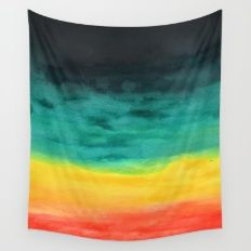 Darkness in the Horizon Wall Tapestry