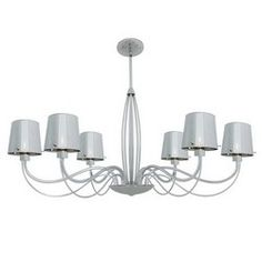 Access Lighting 55533-CH/CHR Chrome Chandelier from the Milano Collection
