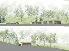 Dance floor Recreation and Memorial Park | Ronabanya Hungary | SAGRA Architects