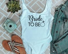 Bride to be Bathing Suit / Birthday Swimsuit / Bride Swimwear / Bridesmaid Gift / Bachelorette Bride Swimsuit / Personalized Swimsuit #bridalswimswear #luxuryswimswear #swim #onepiece Birthday Swimsuit, Bridal Swimwear, Dream Party, Hawaiian Theme, Themed Outfits, Team Bride, Special Events, Bathing Suits, Perfect Fit