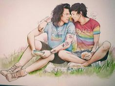 Larry Stylinson Fanart