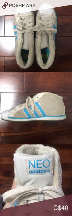 Adidas (Neon) Trendy Flat Shoes With furry inside finish adidas Shoes Sneakers Adidas Shoes, Shoes Sneakers, Blue Adidas, Blue Cream, Flat Shoes, Adidas Women, Neon, Flats, Fashion Trends