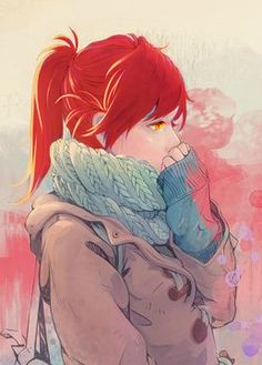 |★| Girl With red hair |亀|