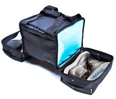 Shrine Sneaker Duffel - Diamond Press Black/Teal
