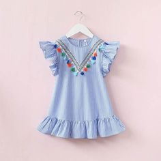 Imported Kids Cotton Frocks from Westofashion Dress Outfits, Kids Outfits, Nice Dresses, Girls Dresses, Baby Dresses, Cotton Frocks, Mother Daughter Outfits, Toddler Fashion, Matching Outfits