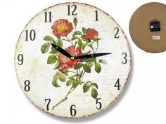 Hodiny nástenné 28 cm Maky Decorative Plates, Clock, Wall, Home Decor, Watch, Interior Design, Clocks, Home Interiors, Decoration Home