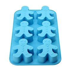 DUFUSTORE Chocolate Cake Candy Baking Silicone Bakeware Mould Snowman Pattern Random Color >>> For more information, visit image link.(This is an Amazon affiliate link and I receive a commission for the sales)