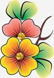 42 Ideas fails design flower artworks for 2019 Flower Pot Art, Flower Art Drawing, Flower Artwork, Star Painting, Fabric Painting, Diy Painting, Tribal Rose, Simple Flower Design, Art Simple