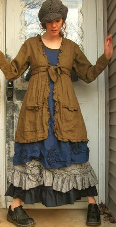 Dress Jacket by sarahclemensclothing on Etsy