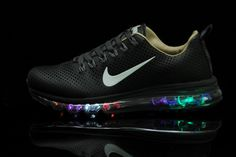 Comfort Air Max 2013 Glowing White Black Shoes, AUD $118.22   www.jetsneakers.com