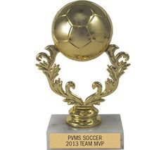 Soccer Activity Trophies