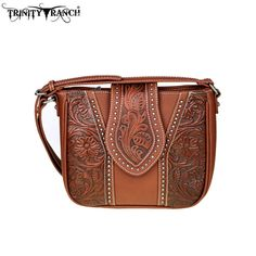 Montana West Handbag Trinity Ranch hipster Brown Crossbody #MontanaWest #MessengerCrossBody