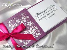 HIT 2012!! Wyjątkowe Zaproszenia Ślubne, PRÓBKI!!!