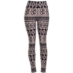 Amazon.com: High Quality Printed Leggings (Ancient): Clothing ($15) ❤ liked on Polyvore featuring pants, leggings, patch pants, blue leggings and blue pants