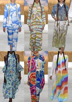 The Spring/Summer 16 catwalk shows have begun in New York and Patternbank have compiled the strongest print looks from the designers so far. Our first inst