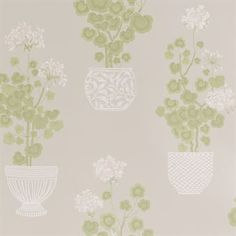 Elin wallpaper - light grey - Sandberg Tyg & Tapet