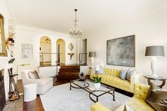 Candace Bushnell Lists Her Enviable Greenwich Village Apartment via @mydomaine